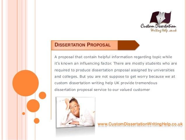 Dissertation proposals online