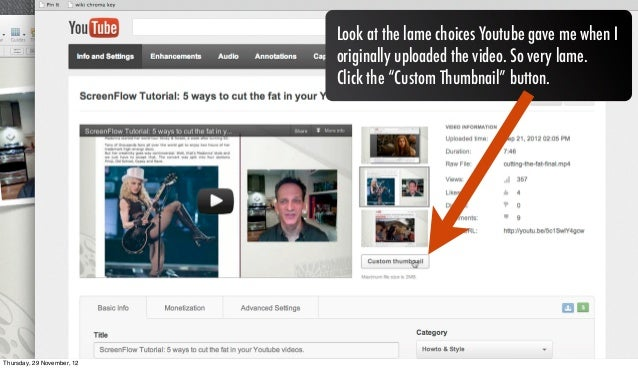 how to make youtube thumbnails on mac
