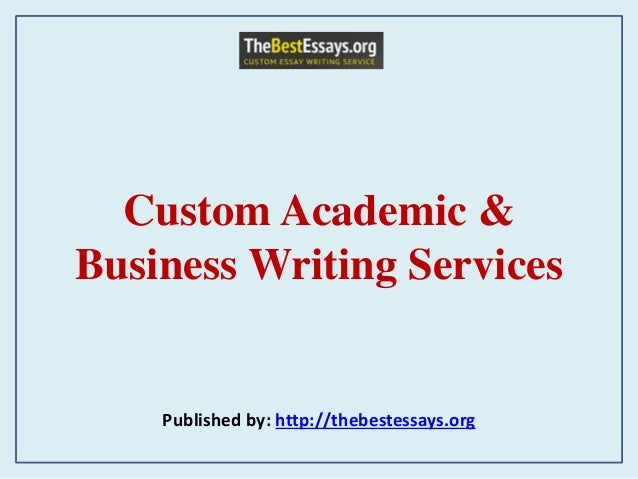 Business writing services company