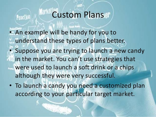 Custom business plans