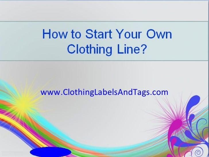 www.ClothingLabelsAndTags.com