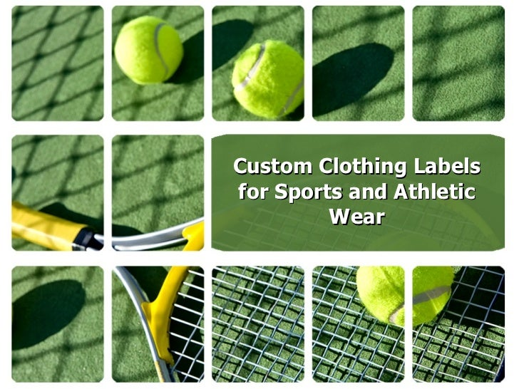 Custom Clothing Labels For Sports And Athletic Wear