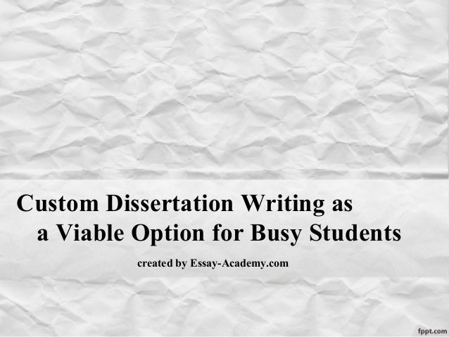 Custom dissertation writers kenya