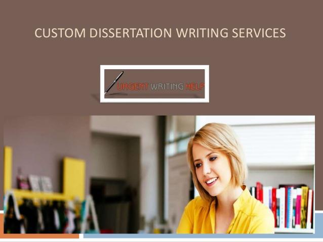 custom dissertation writing