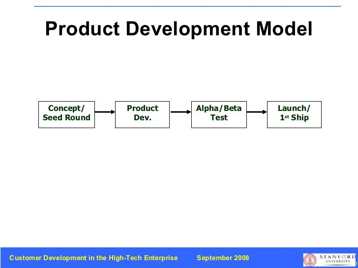 Product Development Model Concept/ Seed