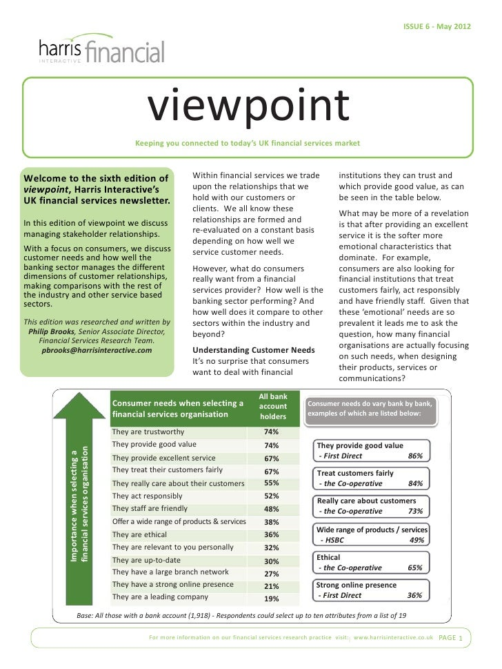 ISSUE 6 - May 2012                                                         viewpoint                                      ...
