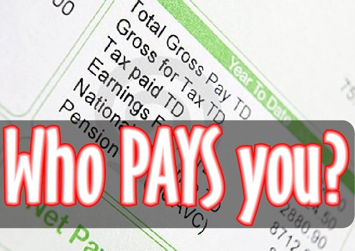 who pays you?