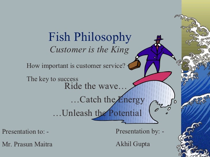 Customer services and fish philosophy for Fish philosophy video