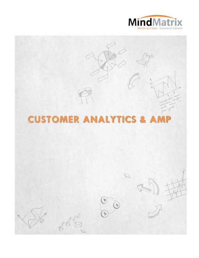 Customer analytics & amp
