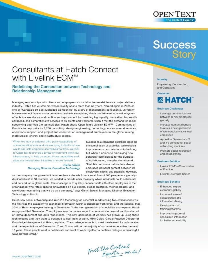 Customer Casestudy Hatch