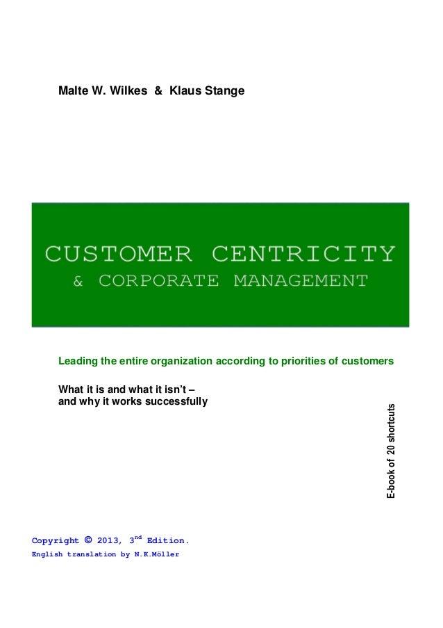 Customer centricity 2013 english
