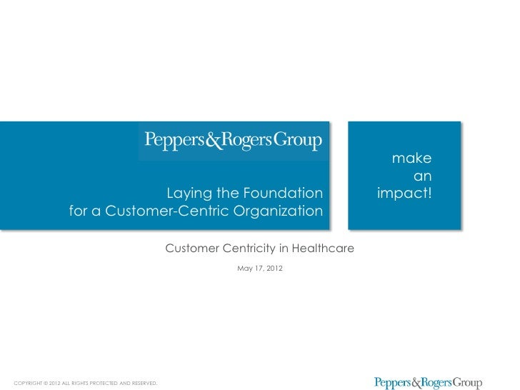 Case Study: Making the Consumer-centric Transformation