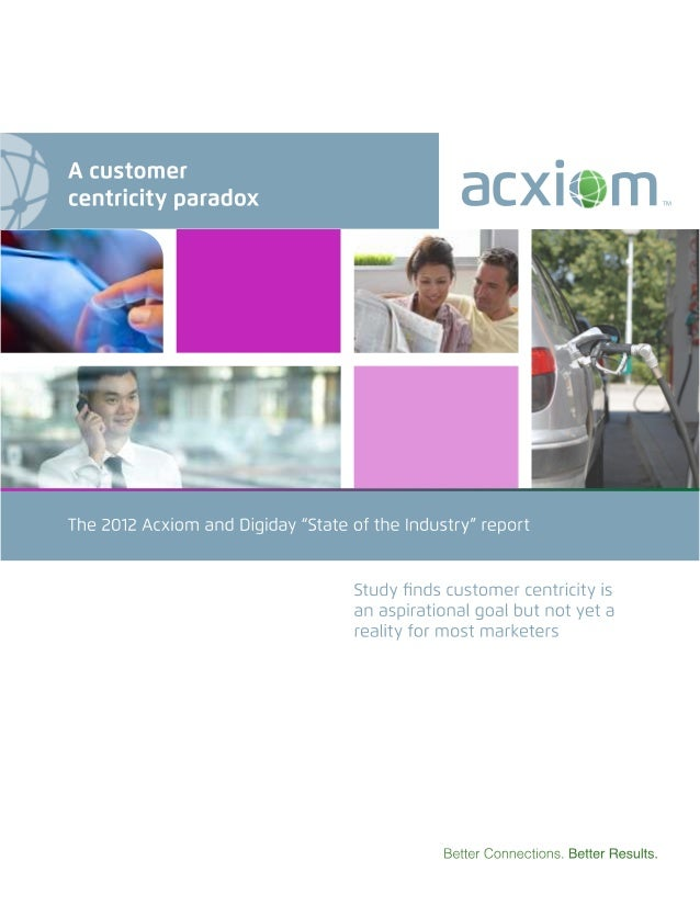 A Customer Centricity Paradox white paper [Preview]