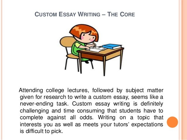 Master's degree essay