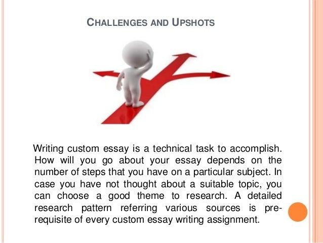 Master essay