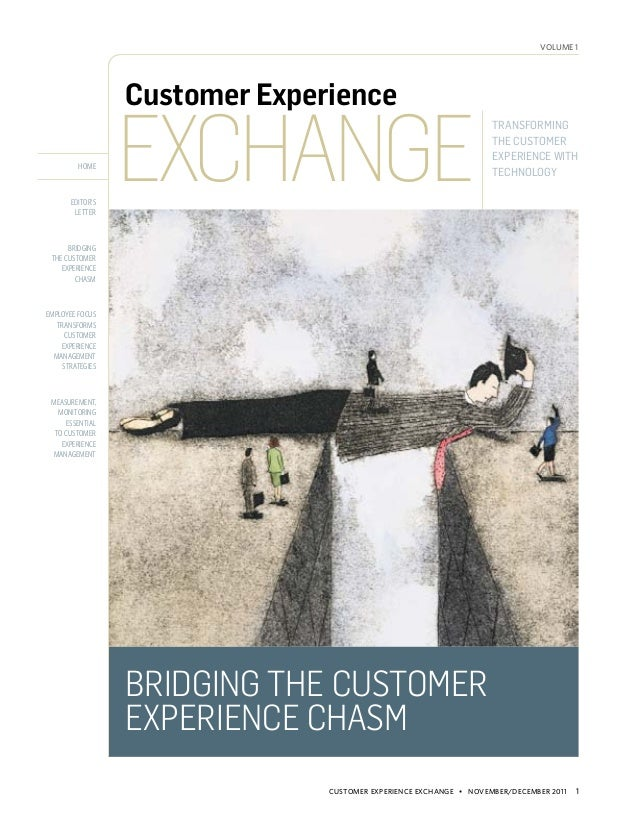 volume 1                  Customer Experience                  Exchange                                                   ...