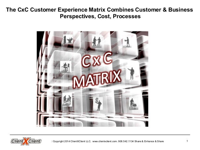 Customer Experience Matrix Mechanics and Geeky CRM Cx CEM