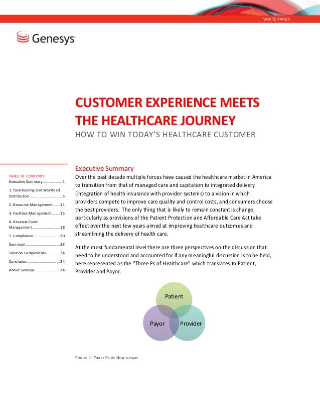 Customer Experience Meets the Healthcare Journey