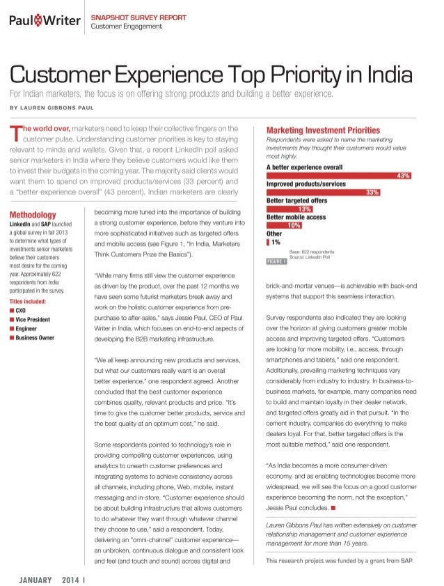 What Engages the Mind of Indian Marketers?