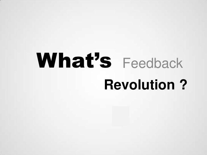 Customer Feedback Revolution