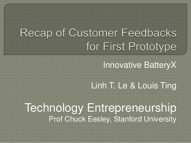 Customer feedbacks