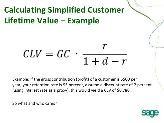 clv customer essay In marketing, customer lifetime value (clv or often cltv), lifetime customer value (lcv), or life-time value (ltv) is a prediction of the net profit attributed to the.