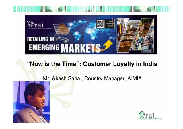 THE INDIA MILLENIALS LOYALTY SURVEY