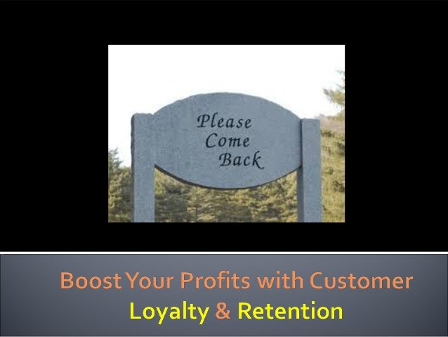 Opt-in SMART Customer Loyalty Power Point