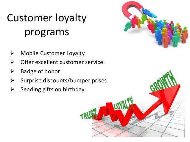 Customer loyalty and customer loyalty programs