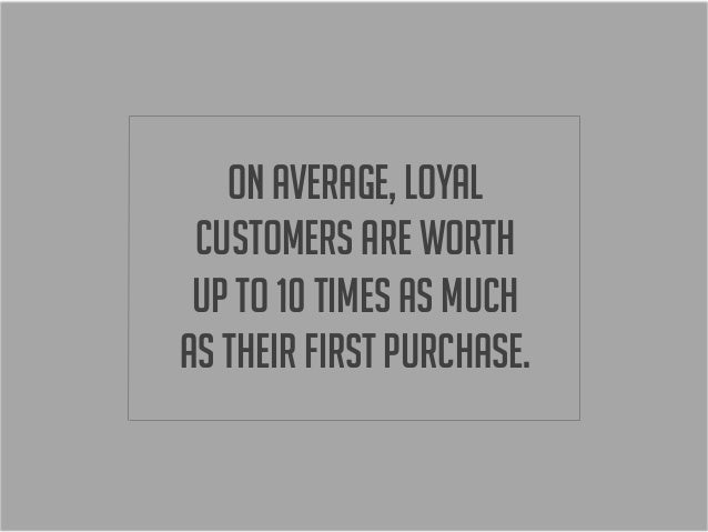 the importance of customer loyalty 5 reasons why customer loyalty is so important in our digitized marketplace august 15, 2012 chopchop guys for businesses, the current trend to attracting customers now in the consumer market is participating in group buying sites by selling their products and services at deeply discounted prices.