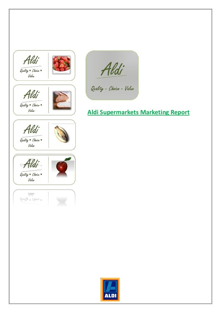 Customer Marketing Assignment: Aldi Supermarkets