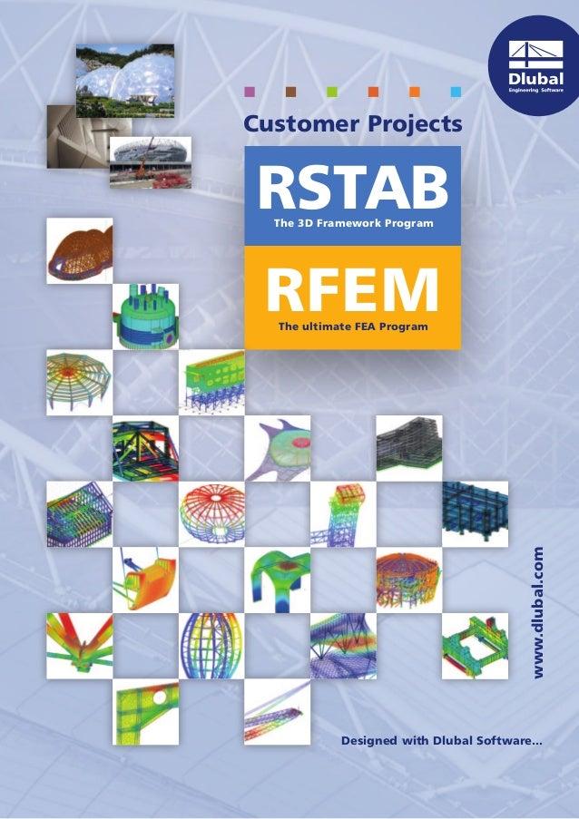 Dlubal Customer projects 2013 RFEM and RSTAB