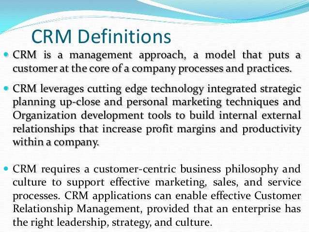 customer relationship management essay questions Salesforce crm gives you the power to provide an effective, custom experience for every one of your clients, whether you have a customer base numbering in the dozens.