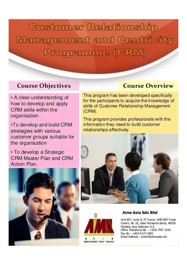Customer relationship management and centricity programme