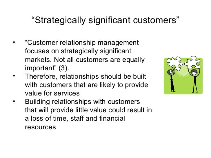 strategic management and possesses good customer essay My overall strategy was to ensure that i have a good customer satisfaction as product quality and performance was most critical while we did have customers a and d who were large customers and value conscious - quality and performance across all segments were critical.