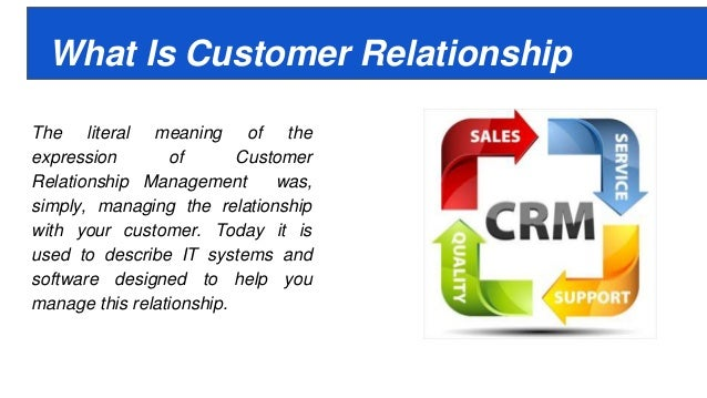 deploying the customer relationship management crm Customer relationship management (crm) implementation in china: a case study of legend group jun wu school of economics and management, beijing university of.
