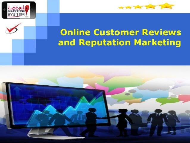 Customer reviews webinar