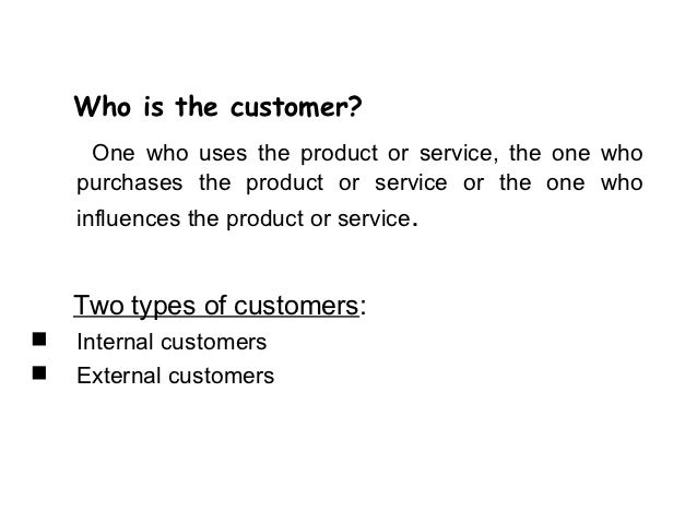 Essay On Customer Satisfaction