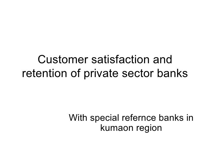 literature review on customer satisfaction in banking services