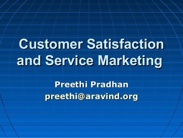 Customer satisfaction definition in marketing