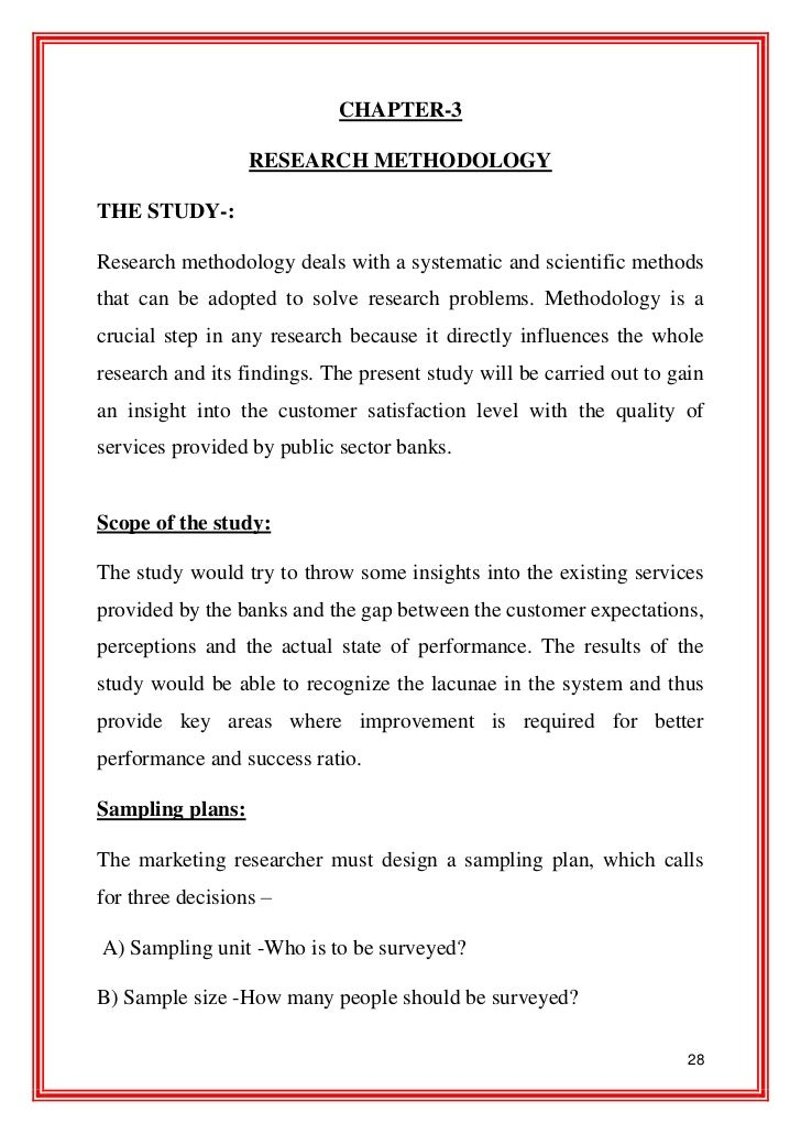 Research paper service quality banks