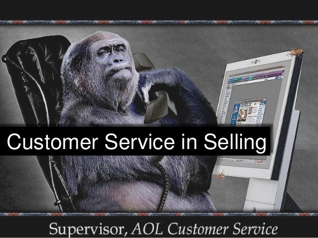 Customer Service in Selling