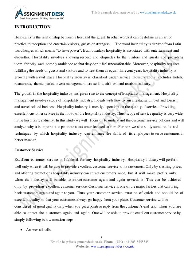 Customer essay writing