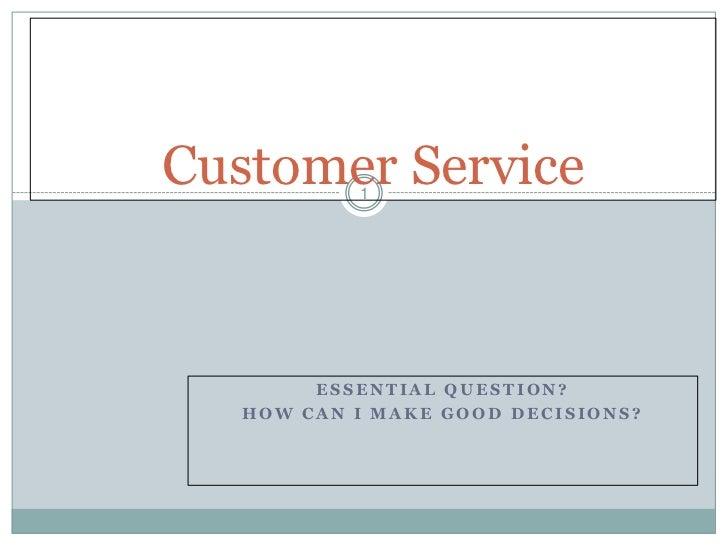 Customer service int rev 12