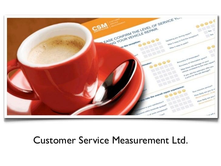 Customer Service Measurement Ltd.
