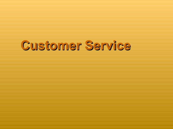Customerservice new ppm