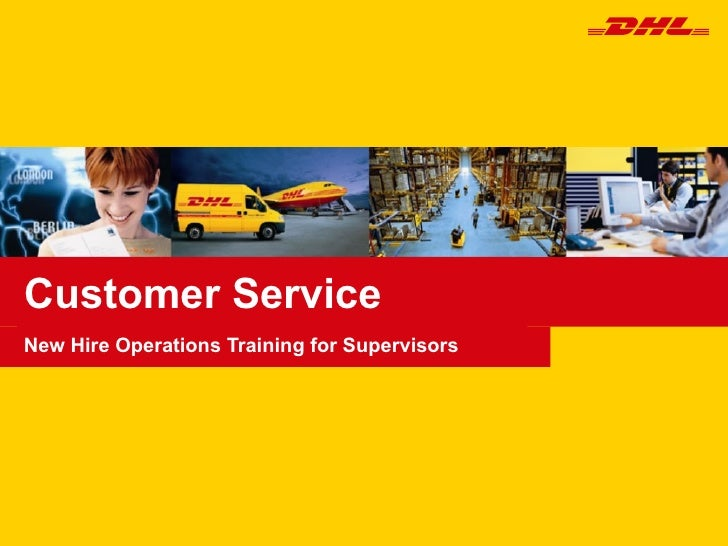 Customer Service New Hire Operations Training for Supervisors