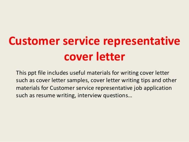 Professional letter writing service representative