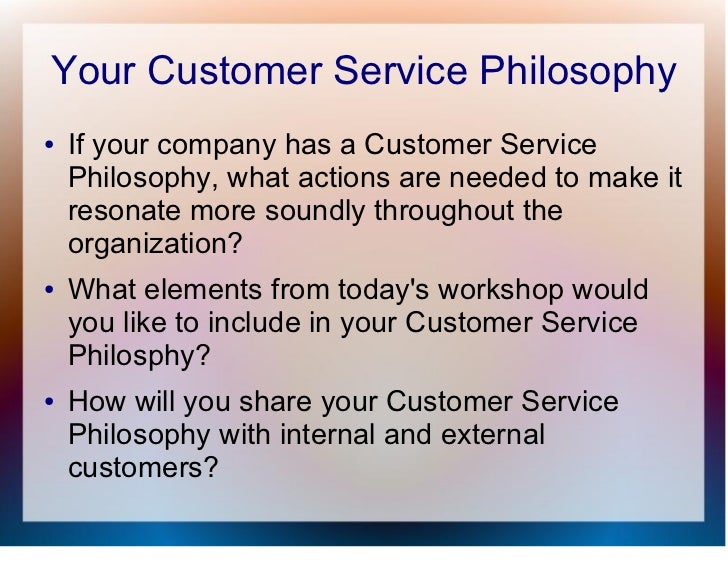 customer service theory essays For this purpose, in the literature review chapter, different theories relating to  service, customers' satisfaction and different categories of hotels will be reviewed.