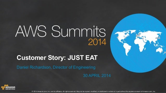 AWS Summit London 2014 | Customer Stories | Just Eat